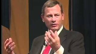 Part 2 of Conversation with Chief Justice of the United States John G. Roberts Jr.