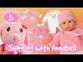 Video for Girls 👶 Just Like Mom #5 👶 New Outfits for Annabell Reborn Baby Doll for Girls