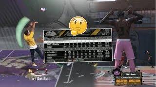 BADGEPLUGS BEST FRIEND PULLED UP ON ME - POST vs POST - NBA 2K18