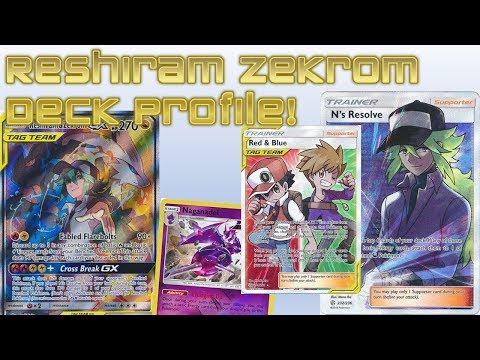 My RESHIRAM ZEKROM Tag TEAM Deck Profile! RAMPLESS ReshiRom!