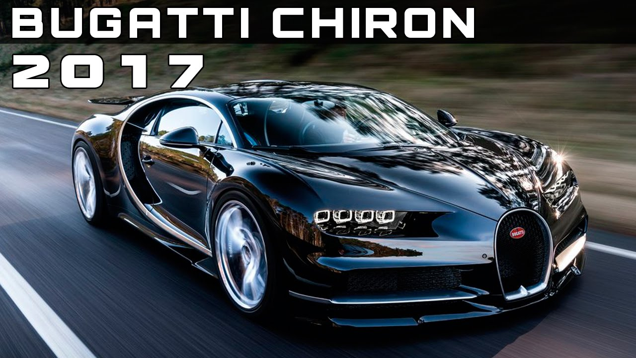 2017 bugatti chiron review rendered price specs release. Black Bedroom Furniture Sets. Home Design Ideas