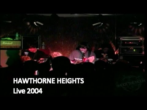 HAWTHORNE HEIGHTS Live at Ace's Basement Full Set (Multi Camera) June 16, 2004