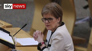 Sturgeon denies accusations of a cover-up in handling allegations against Salmond