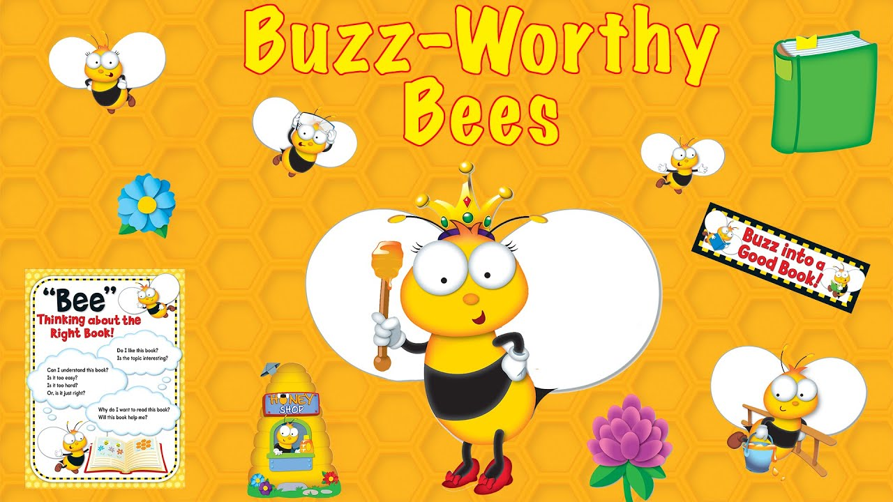 Buzz Worthy Bees Classroom Decorative Theme
