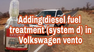 Adding diesel fuel treatment(iftex system d) in VW Vento and knowing the results(injector cleaning)