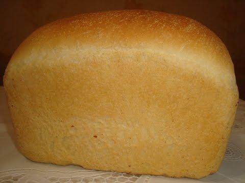 испечь белый хлеб видео