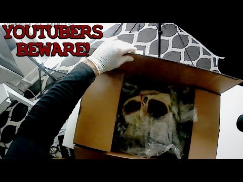 Real Dark Web Mystery Box Pt 3 (Youtubers Being Stalked! Very Scary)