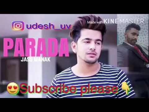 Prada song jatti teri hoju hun soon sun le.. manak by Udesh hit song