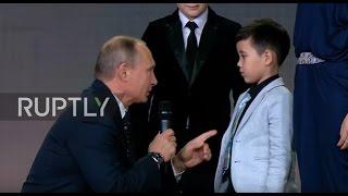 بالفيديو - عندما يمزح بوتين... حدود روسيا