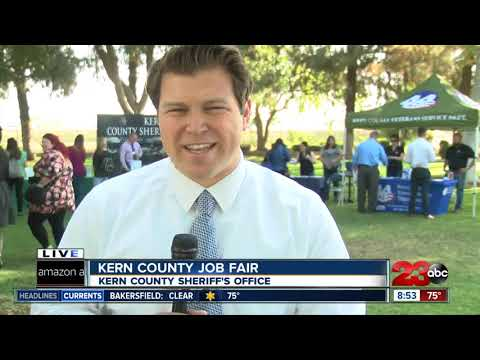 Kern County offices looking for new employees during job fair