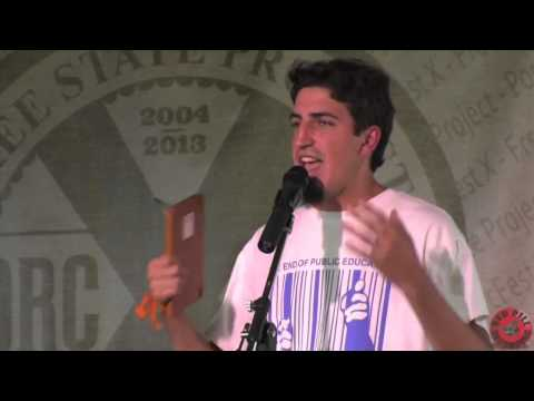 """Peaceful Parenting"" with John Bush at the 2013 Porcupine Freedom Fest"