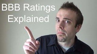 BBB Ratings Explained