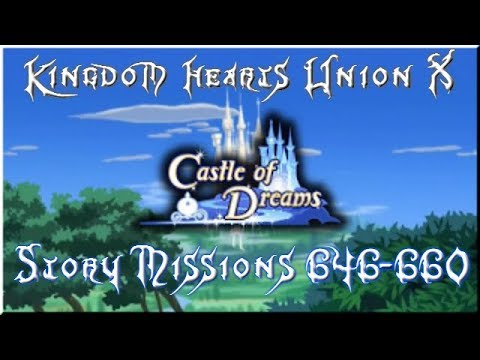 Kingdom Hearts Union X (Cross) | Story | 646 - 660