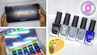 DIY Testing Holo Taco Nail Polish Kit