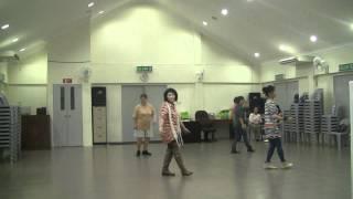 DANCING HEART line dance (Ira Weisburd USA).MTS