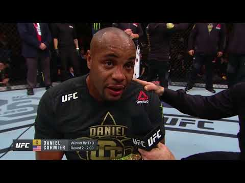 UFC 220: Daniel Cormier Octagon Interview