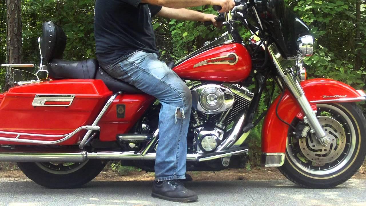 Harley Road King Special >> 2002 FLHRI SHRINE ROADKING FIREFIGHTER EDITION WWW.MAXIMUMMOTORS.NET - YouTube