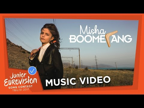 MISHA - BOOMERANG - ARMENIA 🇦🇲  - OFFICIAL MUSIC VIDEO - JUNIOR EUROVISION 2017