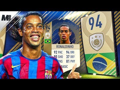 FIFA 18 PRIME RONALDINHO REVIEW | 94 PRIME RONALDINHO PLAYER REVIEW | FIFA 18 ULTIMATE TEAM