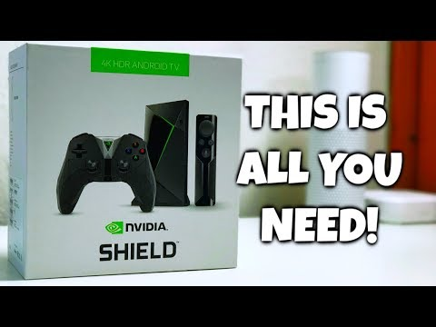 NVIDIA Shield TV Review 2019 | FASTEST Android TV Box (4K HDR Streaming,Gaming,Music & More)