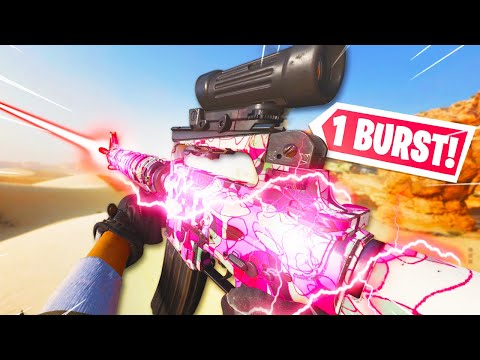 *1 BURST* M16 is UNSTOPPABLE in BLACK OPS COLD WAR.. (Best M16 Class Setup)