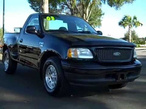 used 2003 ford f 150 sport gainesville fl for sale near ocala lake city jacksonville youtube. Black Bedroom Furniture Sets. Home Design Ideas