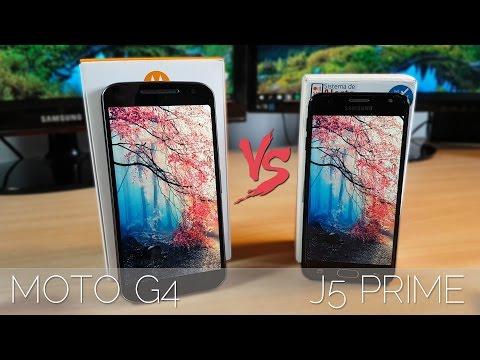 Moto G4 VS Galaxy J5 Prime - Comparativa