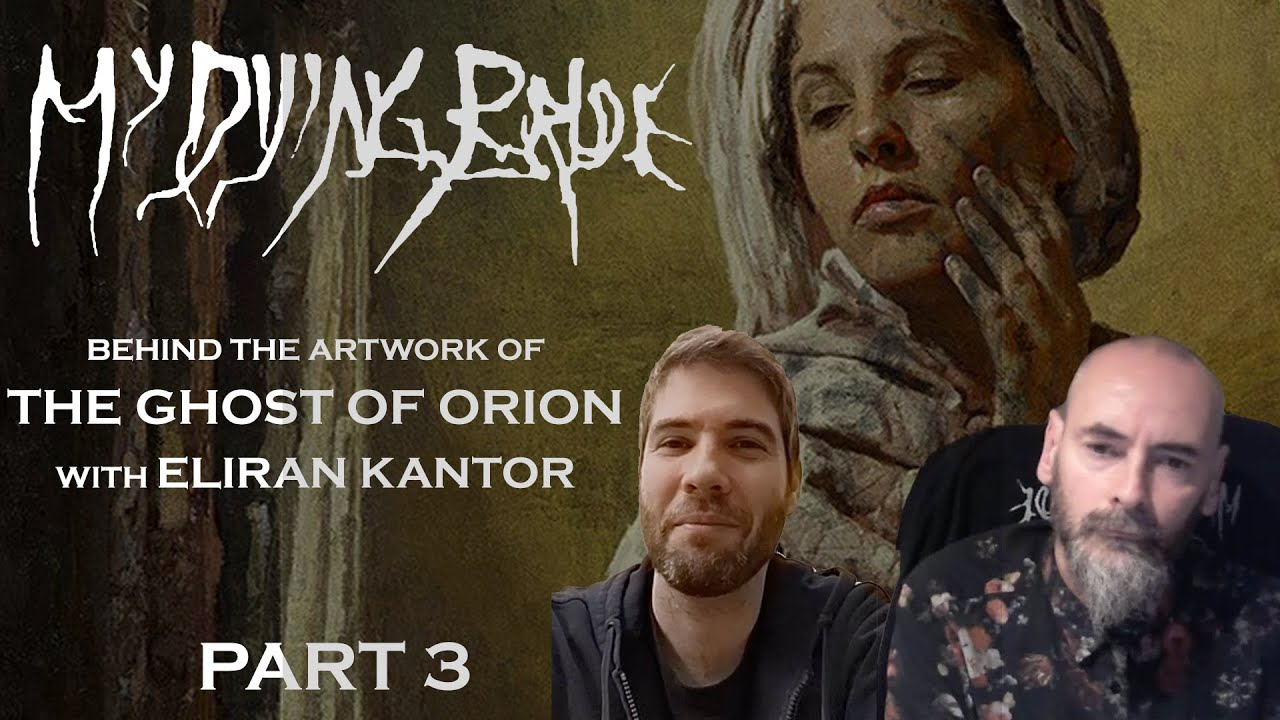 """My Dying Bride - Behind the artwork of """"The Ghost Of Orion"""" (Part 3)"""