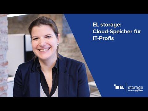 EL storage – die Cloud für IT-Profis