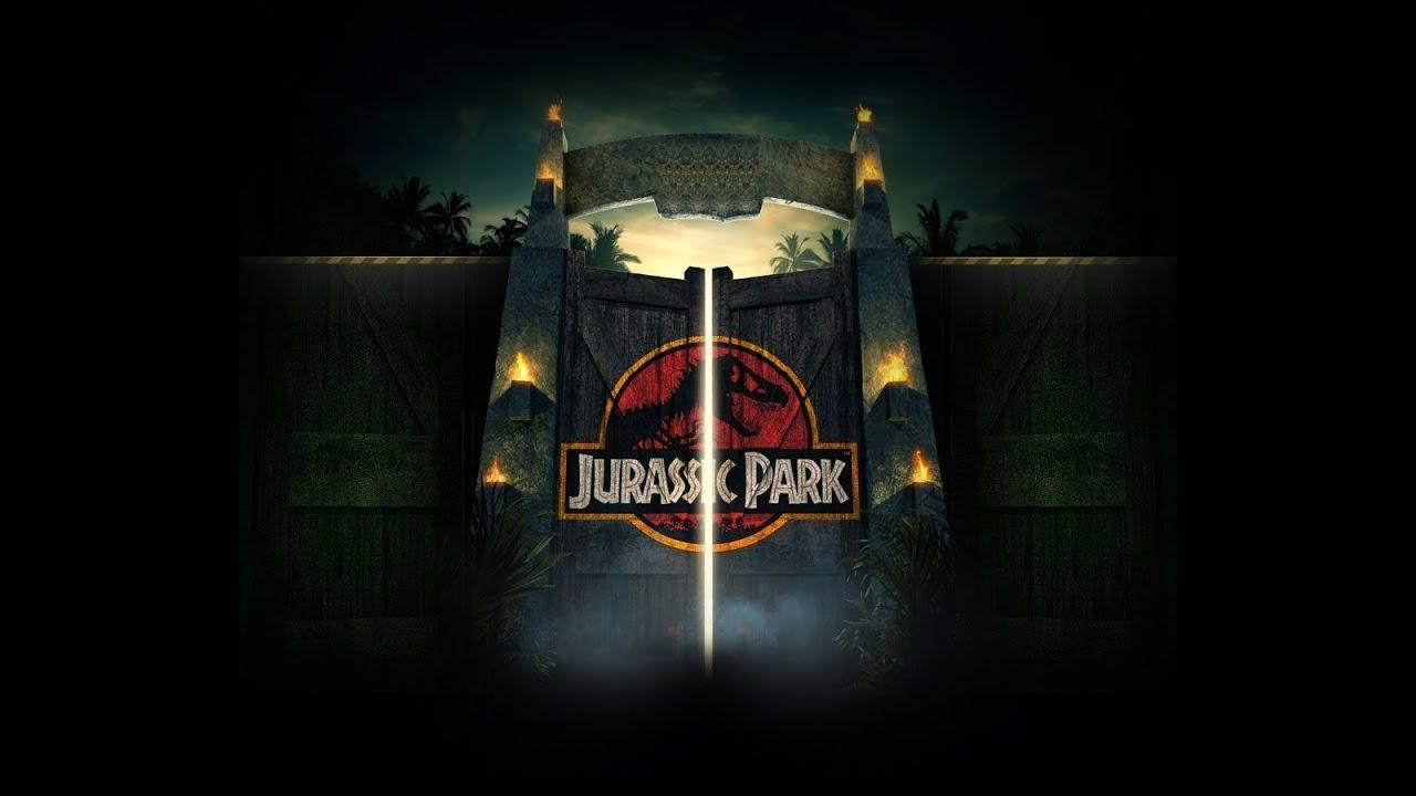 Jurassic Park Gate Film Version Youtube