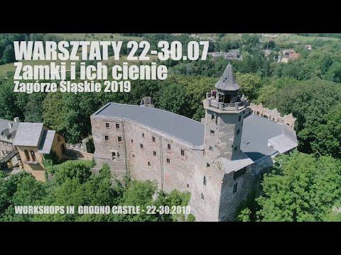"""Relacja z5. edycji warsztatów """"Zamki iich cienie""""   Zamek Grodno"""