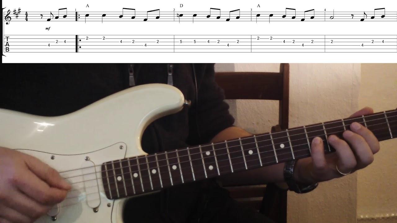 Blues Lesson E-Gitarre mit Blue Note - YouTube