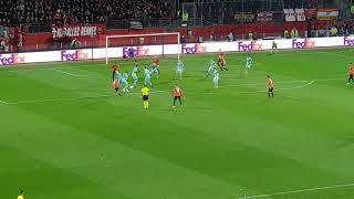 Stade Rennais / Arsenal égalisation de Rennes!!!! 1-1