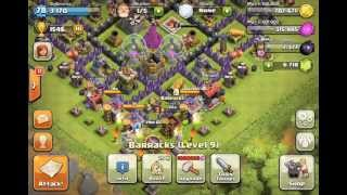 Clash of Clans - Golem Round 2 and update on TH9 move