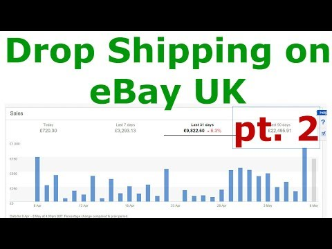 BJ Again on eBay Drop Shipping in the UK, Amazon Tracking and Winning Charge backs with Paypal