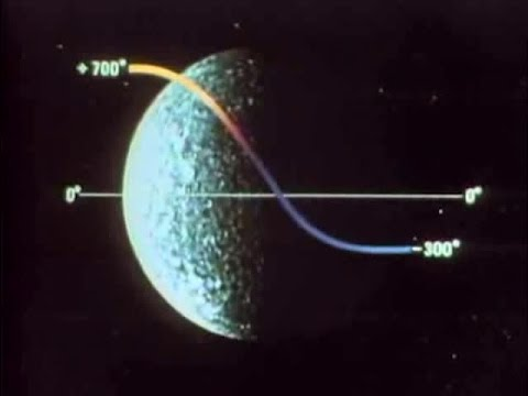 Exploration Of Planet Mercury By Mariner 10 - 1976 - CharlieDeanArchives / Archival Footage