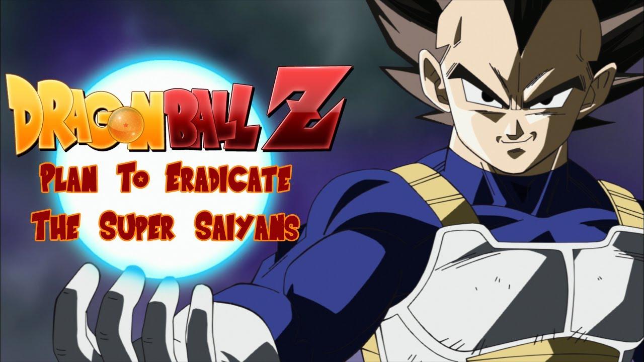 Dbz Movie Plan To Eradicate The Super Saiyans Youtube