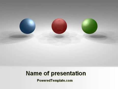 RGB Color Model PowerPoint Template by PoweredTemplate.com