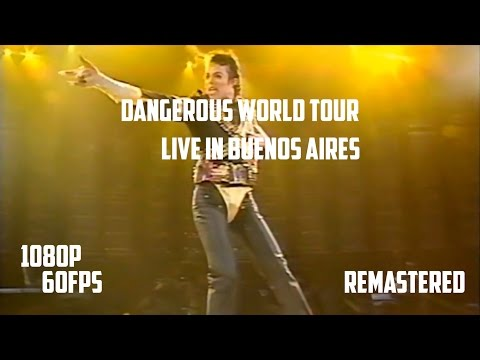Michael Jackson | Live In Buenos Aires | Full Concert | Remastered | 1080p+60fps