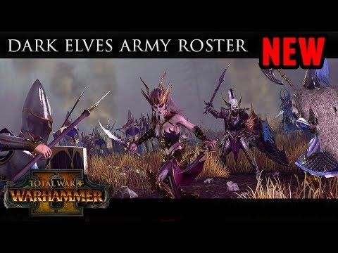 Total War: Warhammer 2 - Dark Elves Roster and Battle Mechanics Revealed