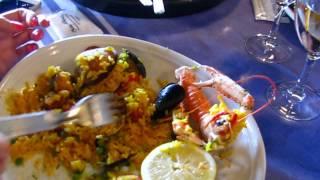 La Paëlla du restaurant chez albert à biarritz 比亚里茨