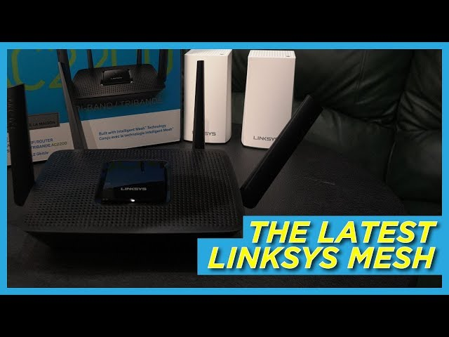 Linksys MR8300 Tri-Band Mesh WiFi Router