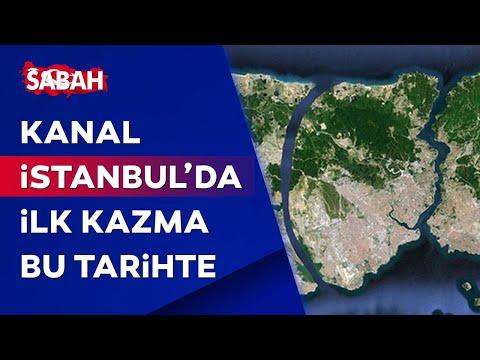 Kanal İstanbul'da flaş gelişme! İlk kazma o tarihte vurulacak