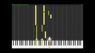 Still Loving You - Scorpions (Easy Piano Tutorial) in Synthesia (100% speed)