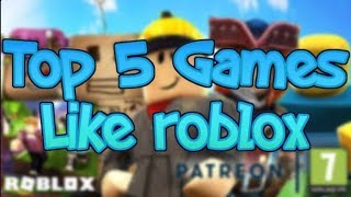 Top 5 Games like Roblox (Benny bro)