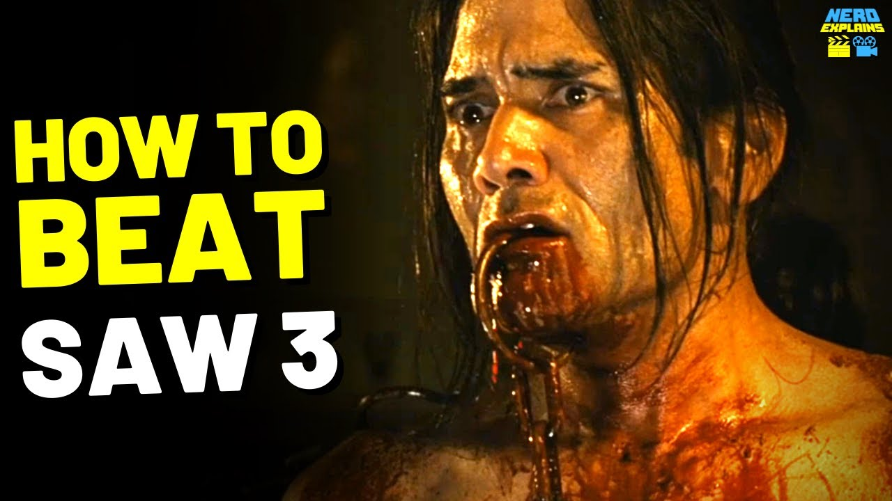 """Download How to Beat the DEATH TRAPS in """"SAW 3"""" (2006)"""