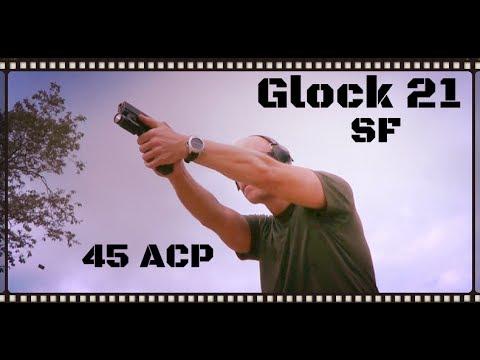 Glock 21SF: 45 ACP Big Bore Glock Review (HD)
