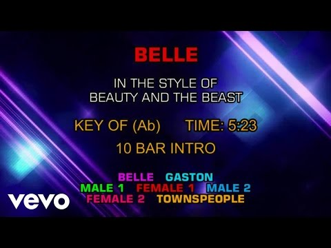 Ensemble - Beauty and the Beast - Belle (Karaoke)
