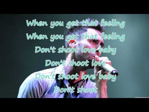 Shoot love - Maroon 5 (lyrics)