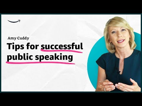 Amy Cuddy - Tips for successful public speaking - Insights for Entrepreneurs - Amazon